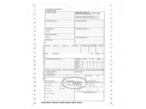 CMR-5 listov A4 samoprepis na tabelačnom papieri bal.100 ks