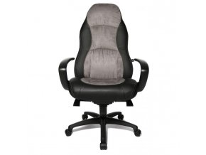 Kancelárske kreslo Speed čierne/sivé