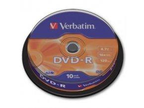Verbatim DVD-R 16x cake10