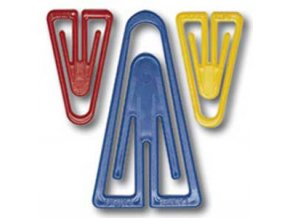 Plastové spony Laurel 35 mm