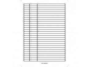 Písacia podložka papierová lakovaná A5