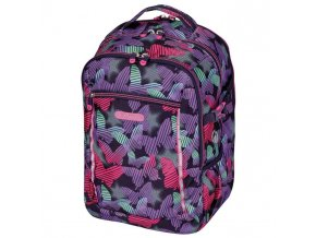 Školský batoh Herlitz Ultimate Pruhovaný motýľ