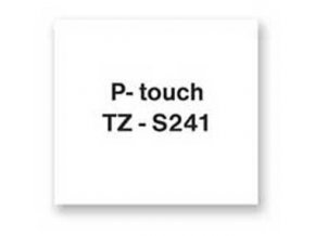 Samolepiaca páska Brother TZe-S241 18mm biela/čierna