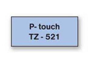 Samolepiaca páska Brother TZe-251 24mm biela/čierna