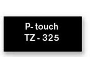 Samolepiaca páska Brother TZe-325 9mm čierna/biela