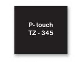 Samolepiaca páska Brother TZe-345 18mm čierna/biela