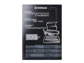 Uhľový papier čierny 100 ks