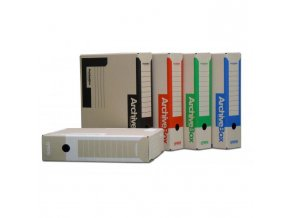 Archívny box EMBA TYP I/75/ACT/M modrý