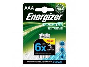 Batéria Energizer dobíjateľná AAA-HR03/2ks 800mAh mikrotužková
