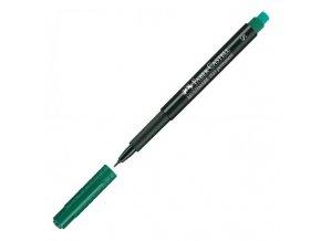Popisovač Multimark permanent S zelený