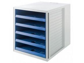 Zásuvkový box Cabinet KARMA eko-modrý