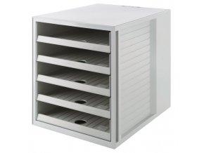 Zásuvkový box Cabinet KARMA eko-sivý