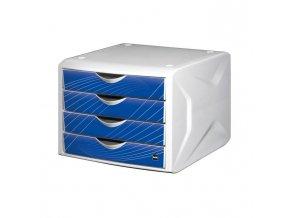 Zásuvkový box Chameleón blue knight