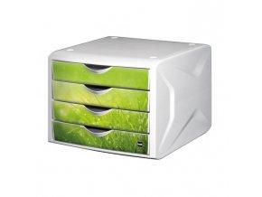 Zásuvkový box Chameleón springtime