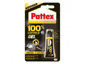 Lepidlo Pattex 100% gél 8g
