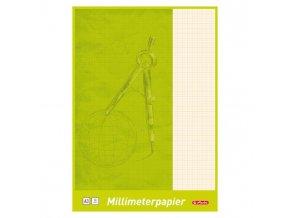Milimetrový papier Herlitz A3 80g 20 listov