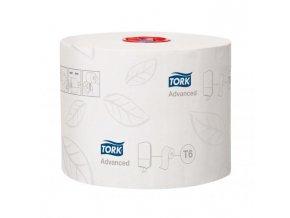 Toaletný papier 2-vrstvový TORK Mid-size biely 27 ks