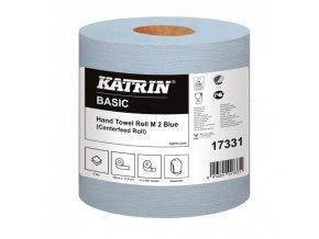 Papierové uteráky v roliach KATRIN Basic M2 blue 6ks
