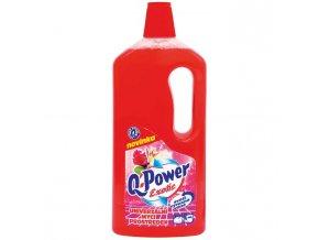 Q-Power UNI čistič na podlahy a povrchy 1l Exotic
