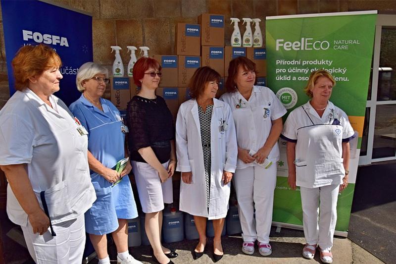 Feel Eco pomáhá příspěvkovým organizacím v rámci celé České republiky