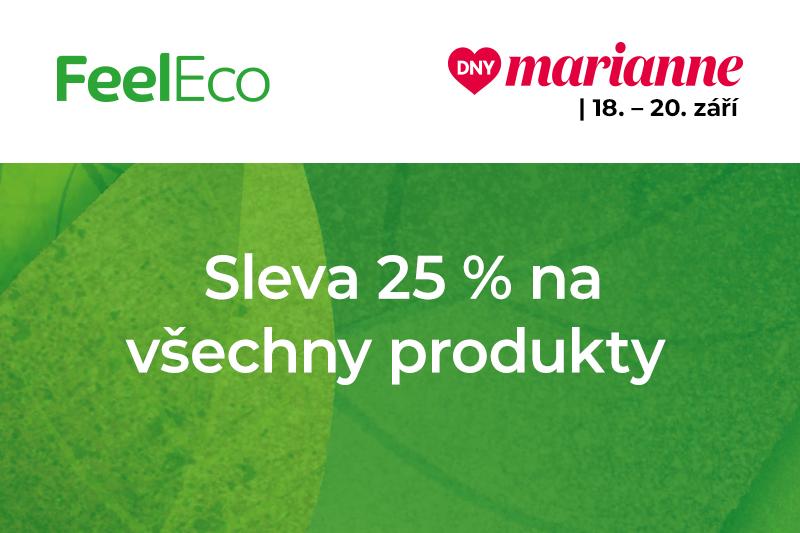 Akce Dny Marianne na e-shopu Feel Eco