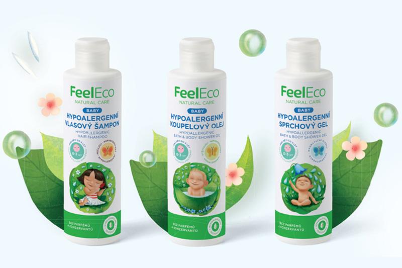 Feel Eco vyvinulo novou řadu hypoalergenní kosmetiky Baby