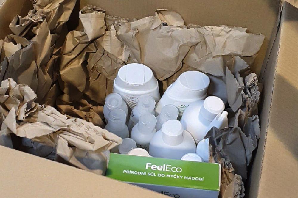 Feel Eco produkty balíme ještě více bezpečně a ekologicky s novou výplní PAPERplus®
