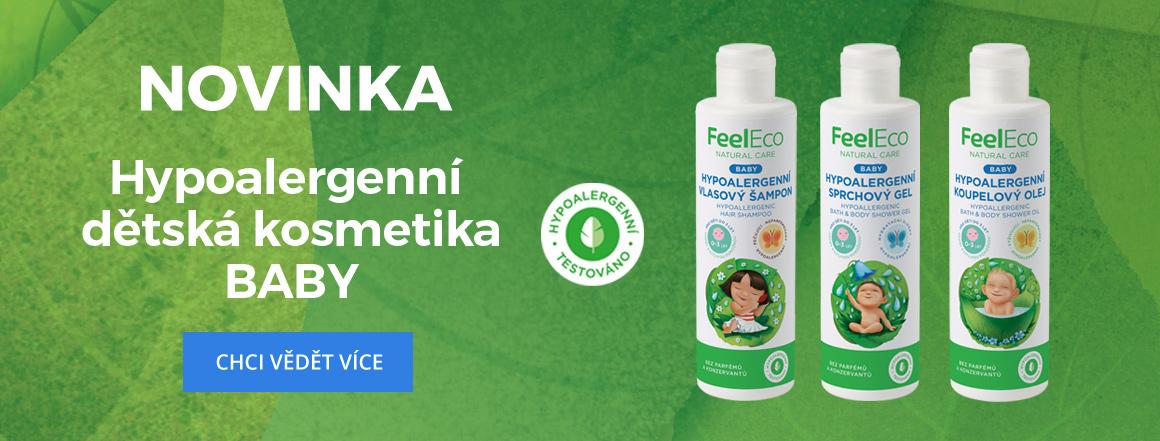 Feel Eco Baby Hypoalergenní kosmetika