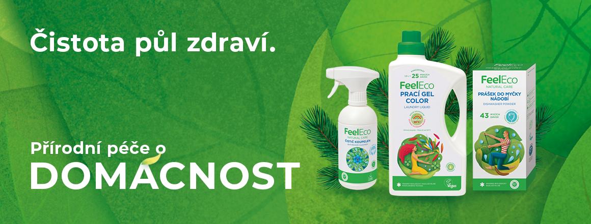 Feel Eco kampaň - Čistota půl zdraví - Domácnost