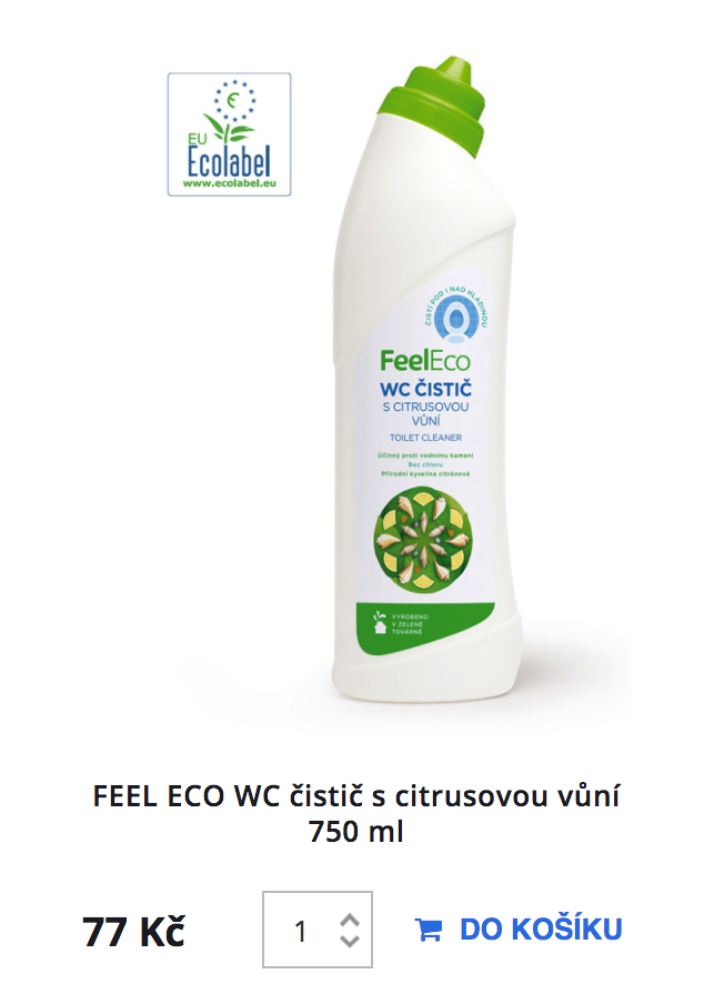 Feel Eco WC čistic