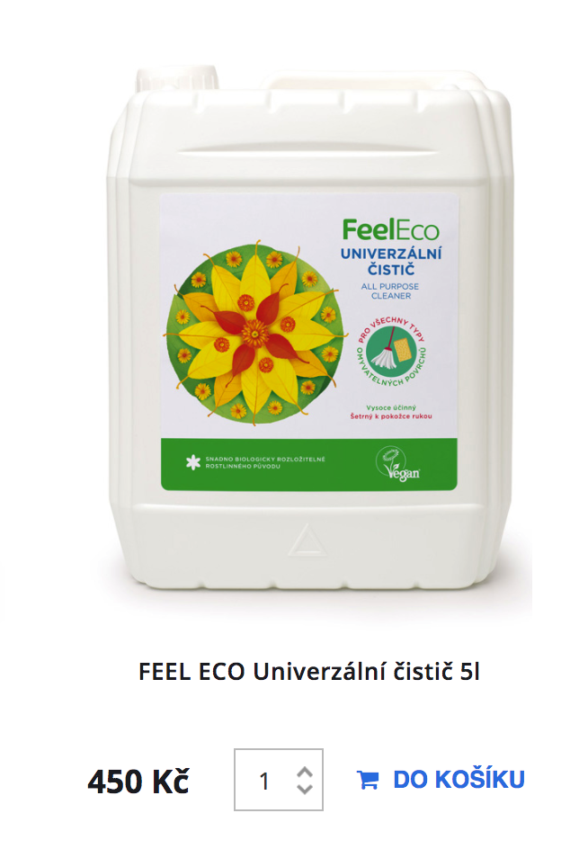 Feel Eco WC čistič 5l
