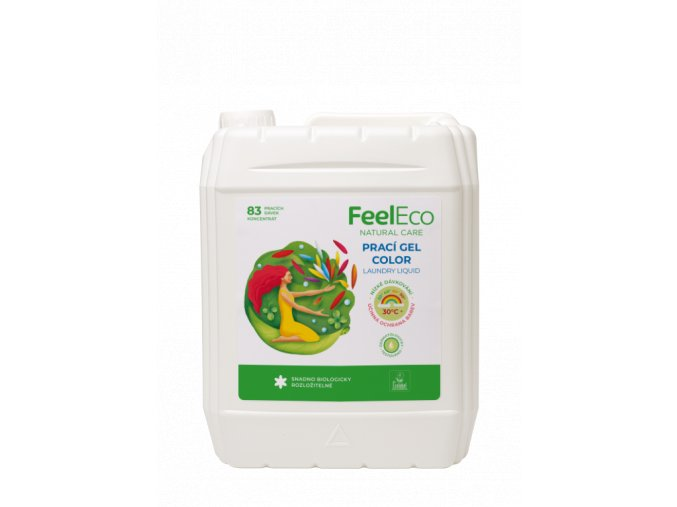 FE praci gel COLOR 5l EUEcolabel