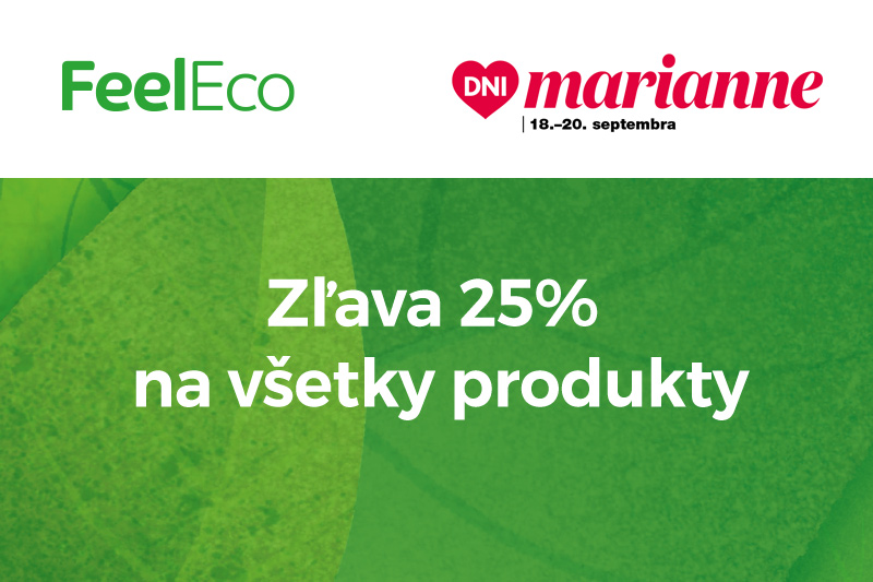 Akcia Dni Marianne na e-shopu Feel Eco