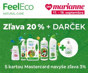 Dni Marianne s Feel Eco od 17. - 19.9.2021