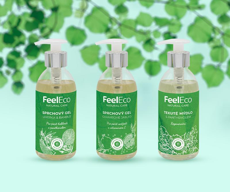 Obľúbené produkty Feel Eco kozmetiky v novom balení Limited edition