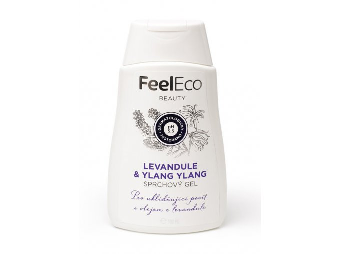 Feel eco sprchovy gel levandule ylang ylang 300ml