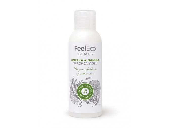 Feel eco sprchovy gel limetka bambus 100ml