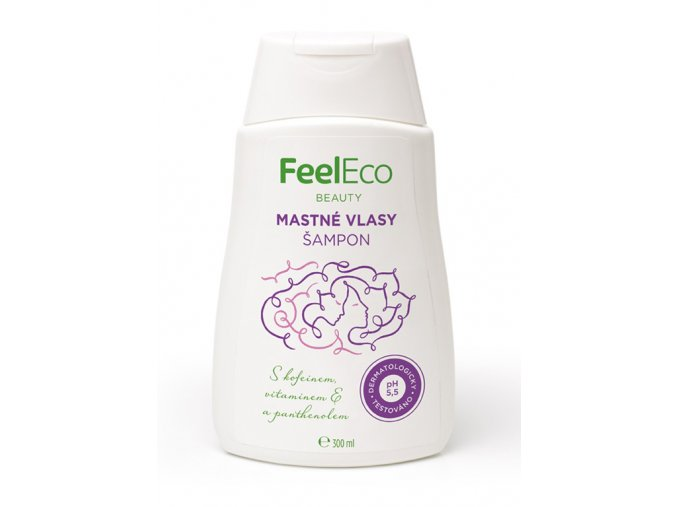 Feel eco sampon mastne vlasy 300ml
