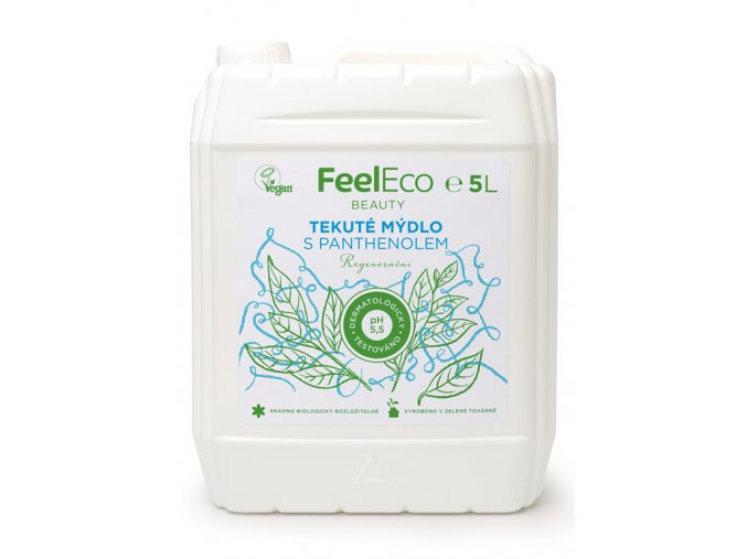 Feel eco tekute mydlo s panthenolem 5l