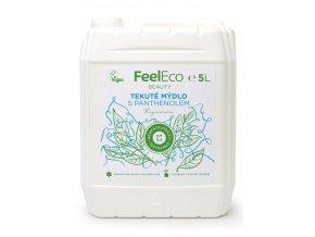 Feel eco tekute mydlo s panthenolem 5l