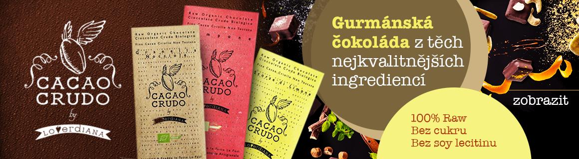 CacaoCrudo čokolády