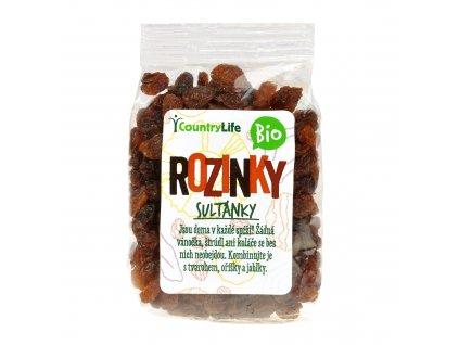 Rozinky sultánky 100 g Bio