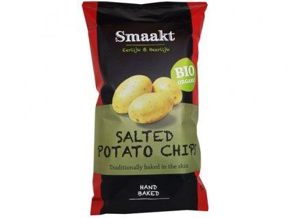 Bramborové chipsy, bio –  Smaakt, 125g