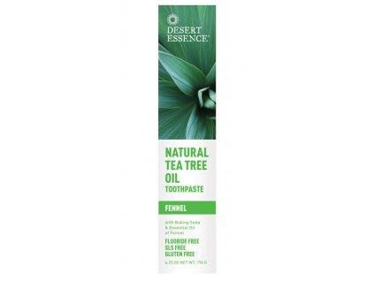 Zubní pasta tea tree & fenykl  Zubní pasta tea tree & fenykl