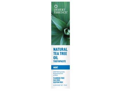 Pasta na zuby - MÁTA (Natural Tea Tree Oil Toothpaste — Mint)