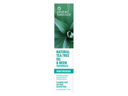 Pasta na zuby - NEEM (Natural Tea Tree Oil & Neem Toothpaste)
