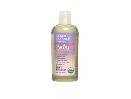 Dětský tělový olej (Cuddle Buns Soothing Body & Massage Oil)