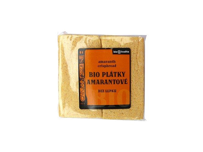 Bio amarantové plátky křupavé 100 g