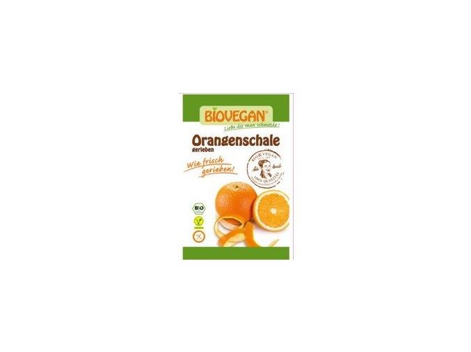 Pomerančová kůra strouhaná sušená BIO 9g Biovegan