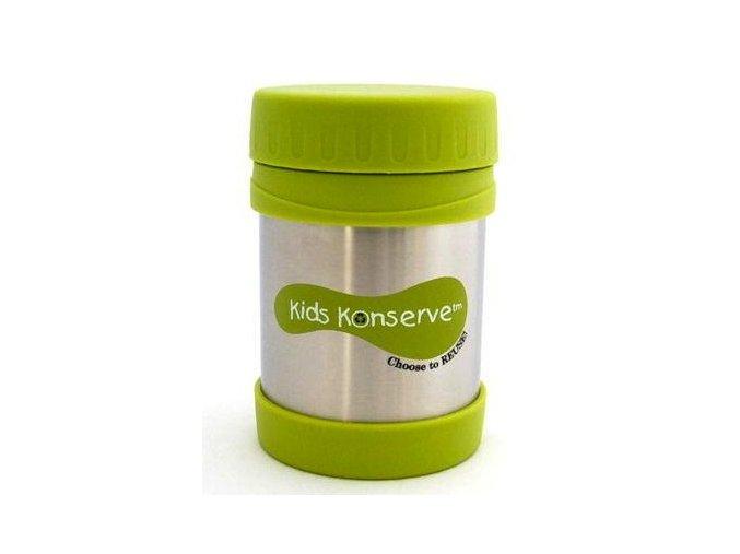Termoska na jídlo - nerezová – Green 350ml